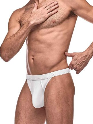 Mens Sexy Underwear White Thong for Men