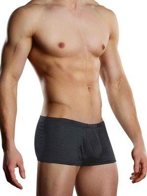 Rayon Swag Pouch Short Black